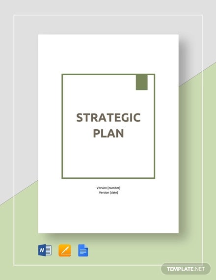 strategic plan template