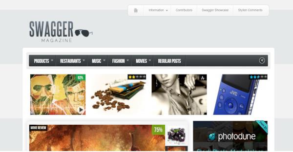 Swagmag - Well Documented WordPress Theme