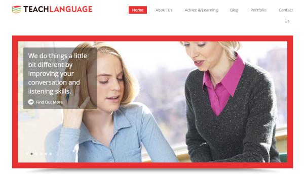 teachlanguage seo ready wordpress theme