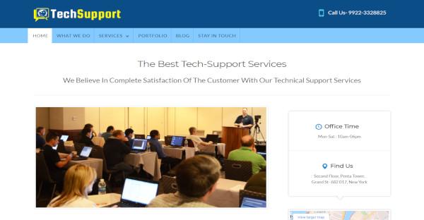 techsupport – customer friendly wordpress theme