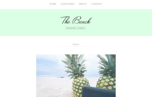 the-beach-user-friendly-wordpress-theme