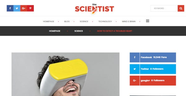 The Scientist - Unyson Support WordPress Theme