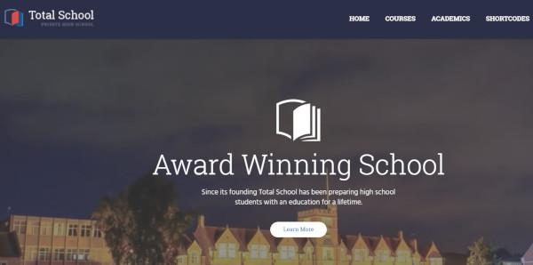 total-school-drag-and-drop-wordpress-theme