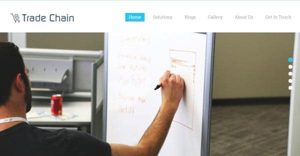 TradeChain - Retina Ready WordPress Theme