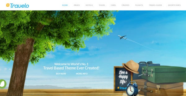 Travelo -­ Currency Management WordPress Theme