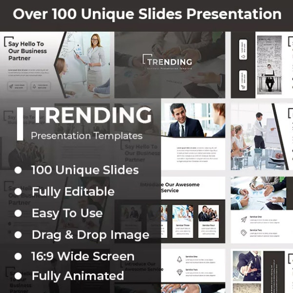 Trending Business PowerPoint Presentation Template
