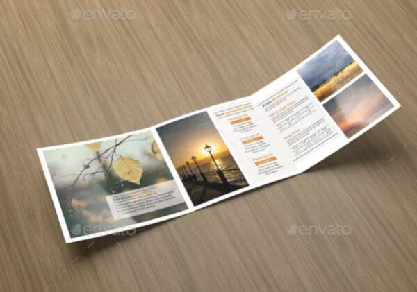 trifold photography pricing list template