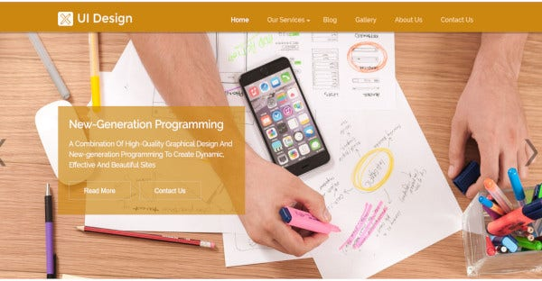 ui design – customizable wordpress theme