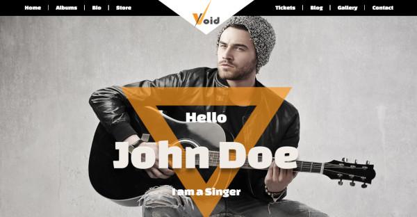 VOID – Customizable WordPress Theme
