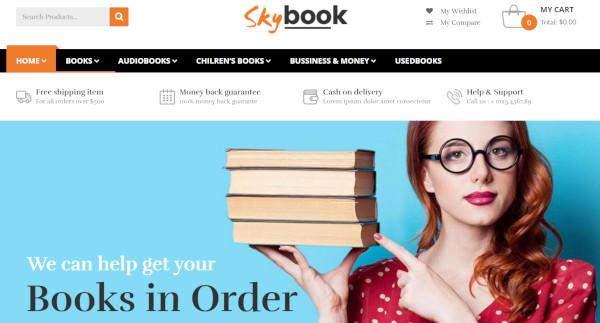 vg skybook – visual composer wordpress theme