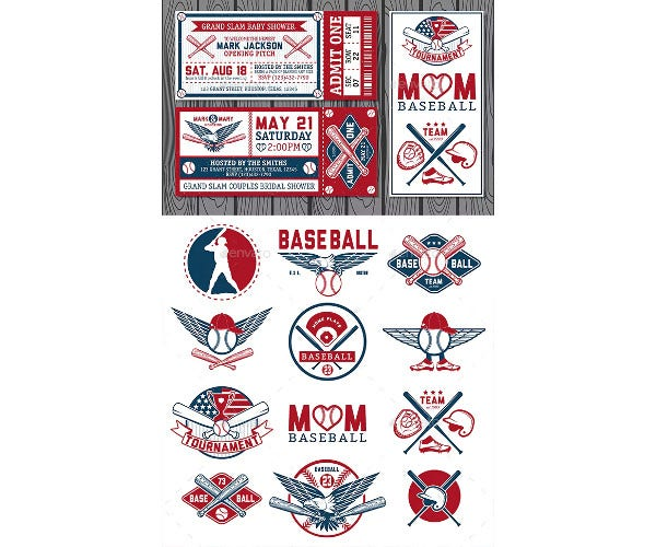 vintage baseball tickets