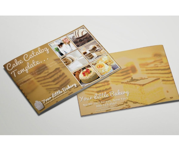 vintage restaurant catreing service brochure