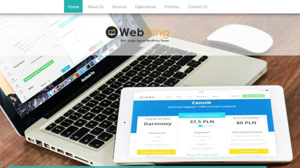 web-ding-multilingual-wordpress-theme