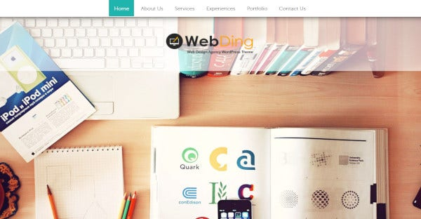 webding – responsive wordpress theme