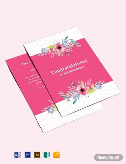 wedding congratulations greeting card template 440x570 1