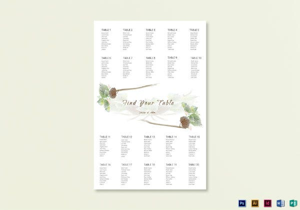 wedding seating chart1