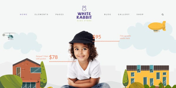 white rabbit wpbakery wordpress theme
