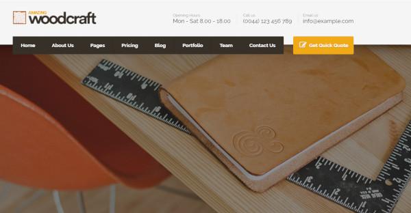 woodcraft – multi purpose wordpress theme
