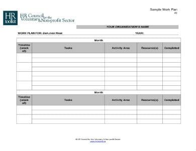 work plan template 1