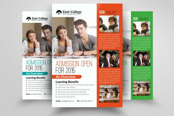 academic flyer