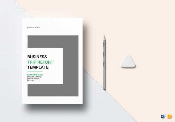 Sample Business Trip Report Templates Google Docs Ms Word