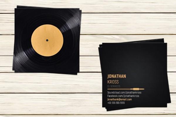 dj-business-card-template