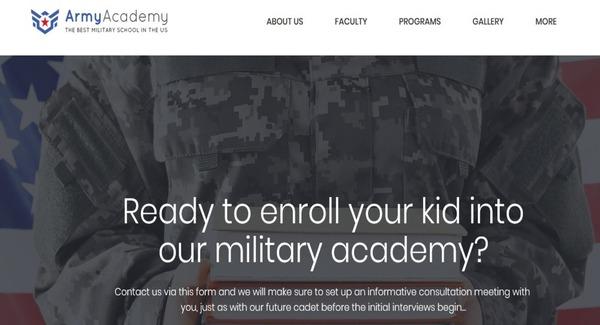 Army – Drag and Drop WordPress Theme