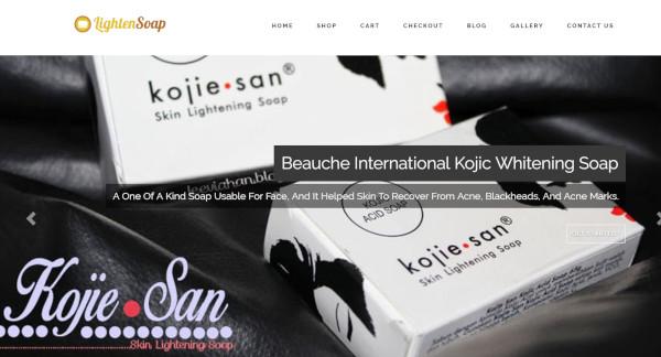 lighten soap – responsive wordpress theme