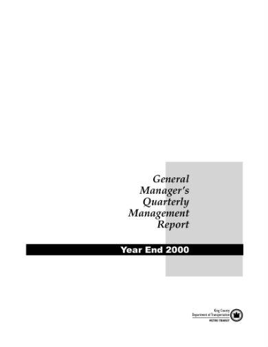 management report sample 01