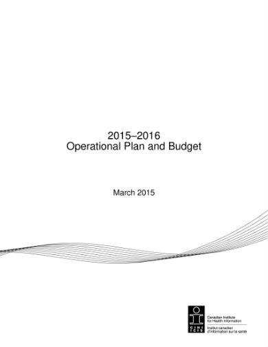 operational plan budget 01