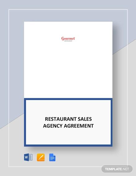 restaurant sales agency
