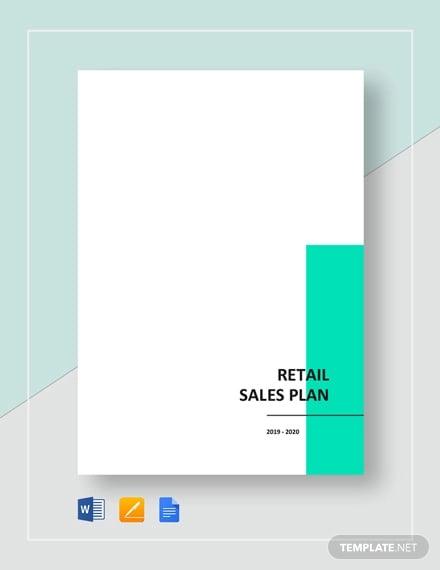 retail sales plan