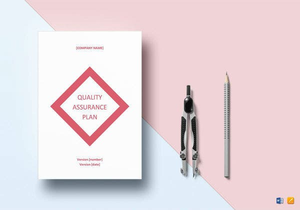 sample quality assurance plan mockup