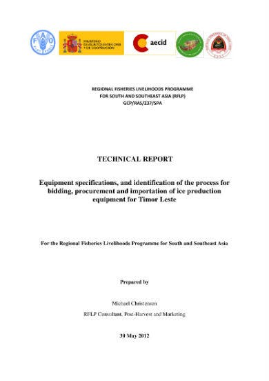 sample technical report 01