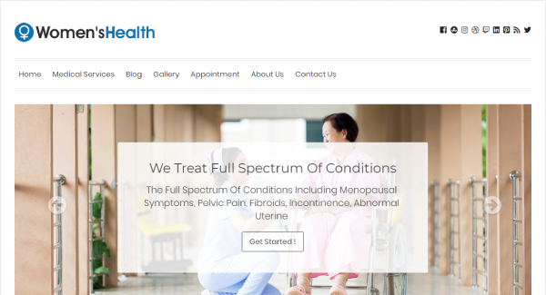Women's Health – Newsletter WordPress Theme