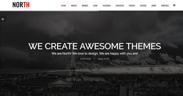 North – Style Customizer WordPress Theme