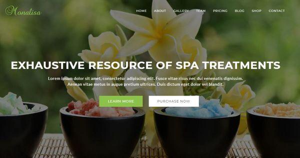 Monalisa – CSS WordPress Theme