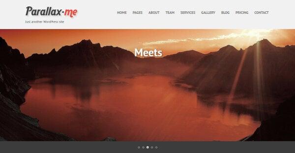 SKT Parallax Me Pro – HTML5 & CSS3 Coded WordPress Theme