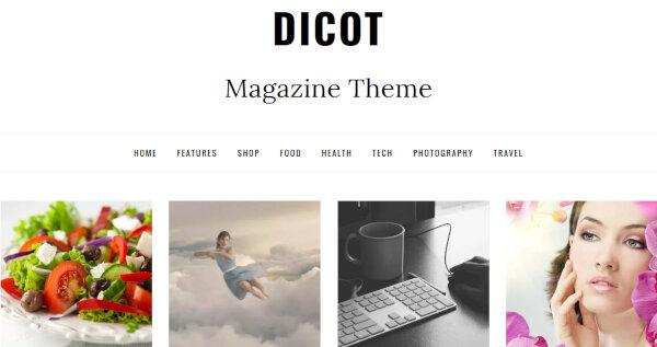 Dicot – Carousel WordPress Theme