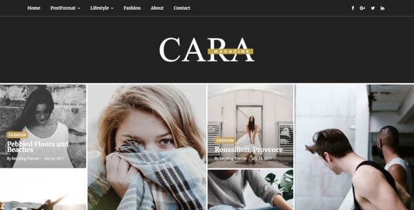 Cara – Drag and Drop WordPress Theme