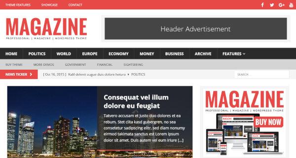 MH Magazine – PHP WordPress Theme