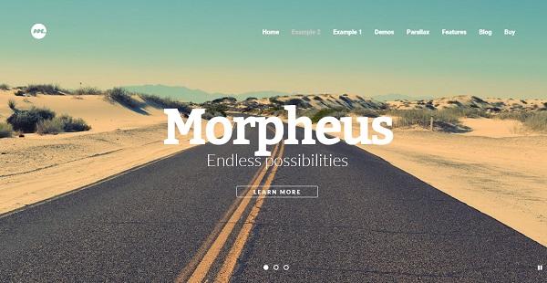 Morpheus – Multiple Display Option WordPress Theme
