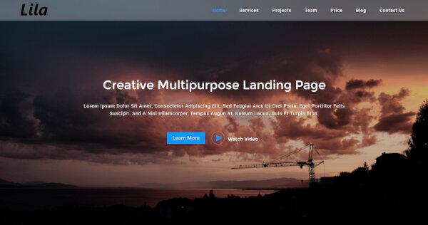 Lila – Redux Framework WordPress Theme