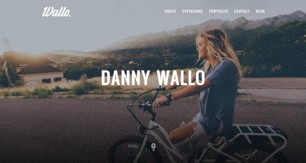 Wallo – Mobile Friendly WordPress Theme