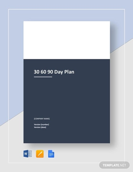 30 60 90 day plan template1