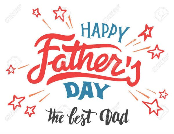 56479275 happy father s day hand lettered greeting card hand drawn typography and calligraphy isolated on whi