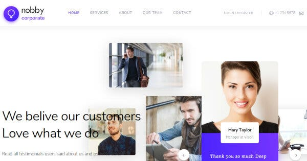 Nobby – WooCommerce Ready WordPress Theme