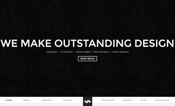 Newave – Full Screen Slider WordPress Theme