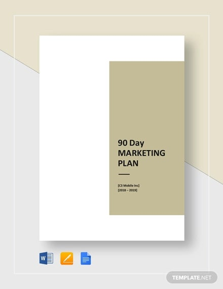 90 Day Plan Template - 14+ Free Word, PDF Documents Download | Free
