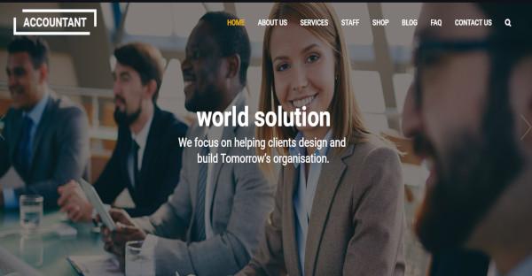 accountant – lightweight ux wordpress theme